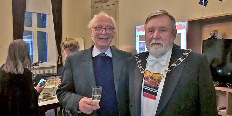 Benito Casagrande ja Timo Soikkanen