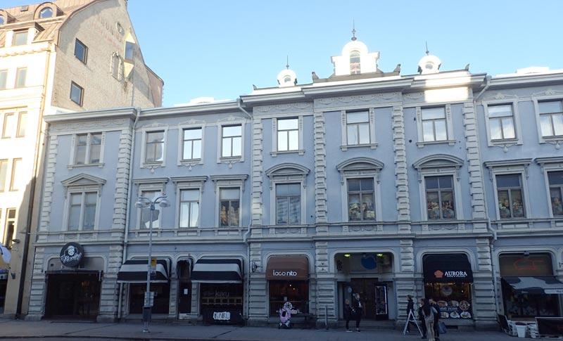 Affärcentrun, Forum-kortteli, Turku