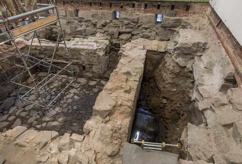Katedralskolan, arkeologiset kaivaukset 2018