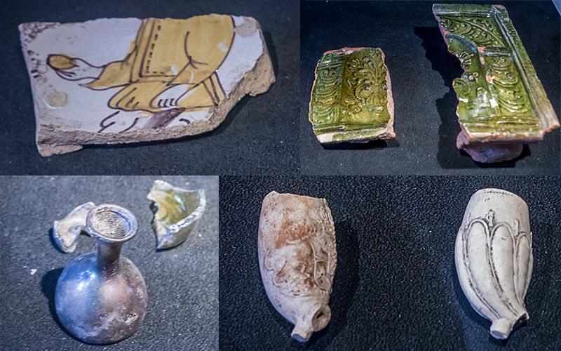 Katedralskolan kaivaus löytöjä